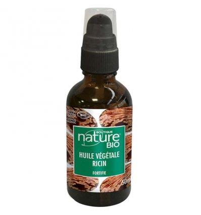 Huile Végétale Ricin Bio - BOUTIQUE NATURE