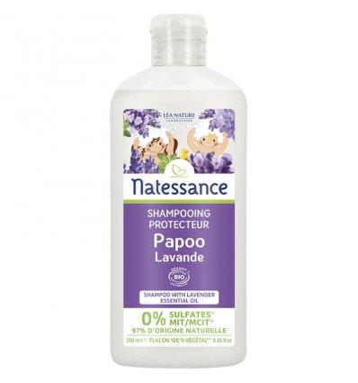 Shampoing Protecteur Papoo Lavande Bio - NATESSANCE