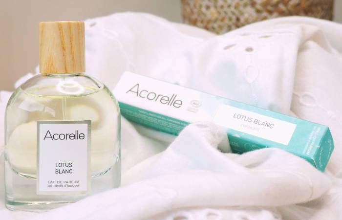 Eau de Parfum Bio Lotus Blanc Acorelle