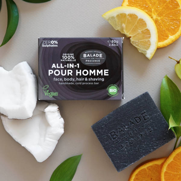 Soins Solides Homme Bio Balade en Provence