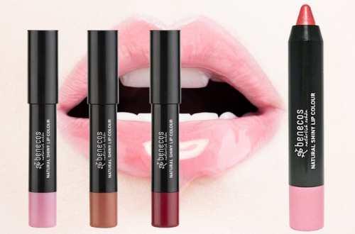 Rouge à Lèvres Brillant Bio 3 Teintes Disponibles BENECOS