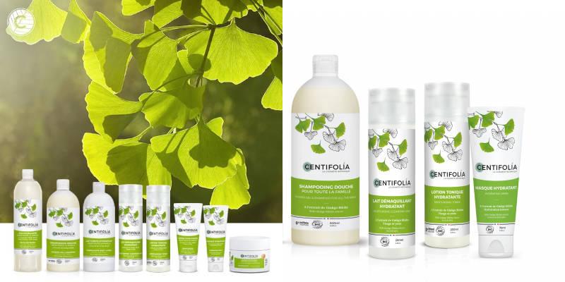 Soins Hydratants Ginkgo Biloba Bio Centifolia
