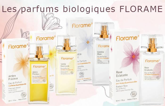 Parfum Bio Femme Florame