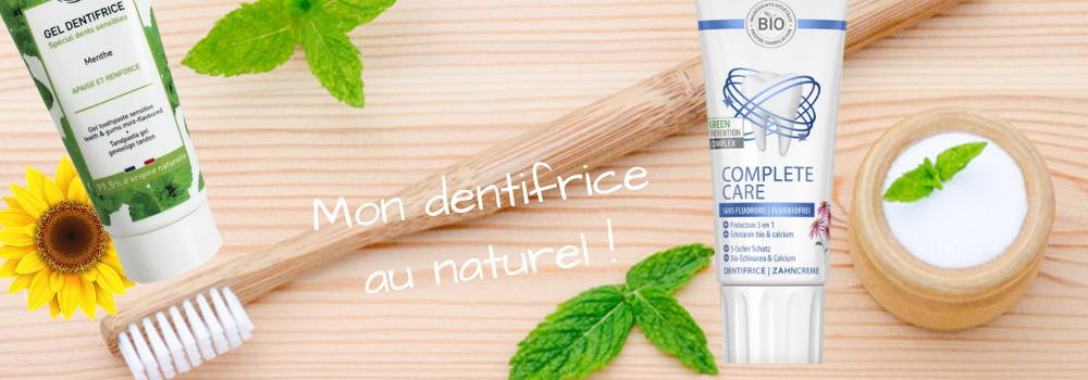 Dentifrice Bio et Naturel