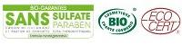 Labels Bio et Sans Sulfates