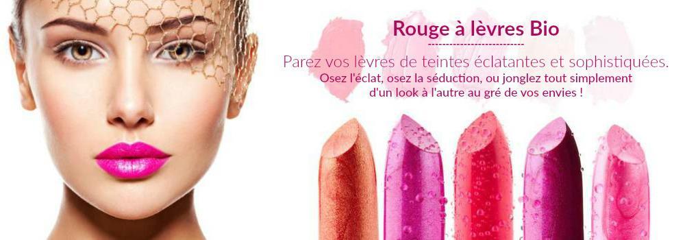 Maquillage des Lèvres Bio et Naturel