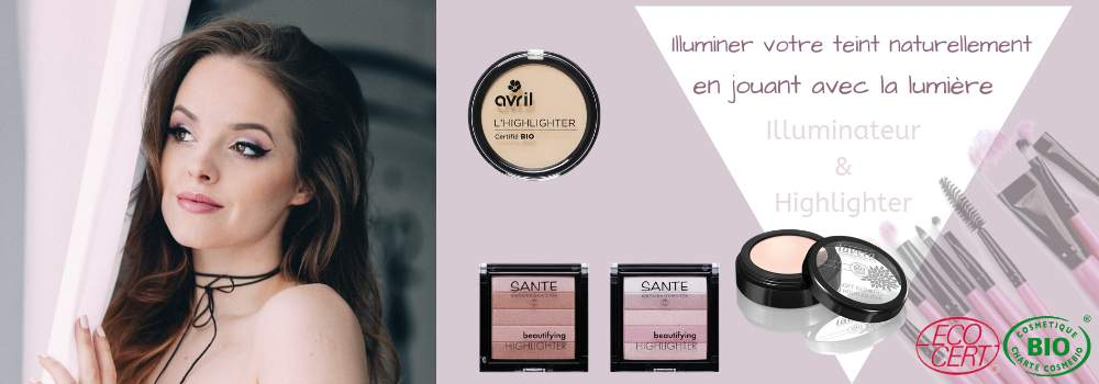 Maquillage Illuminateur de Teint Bio
