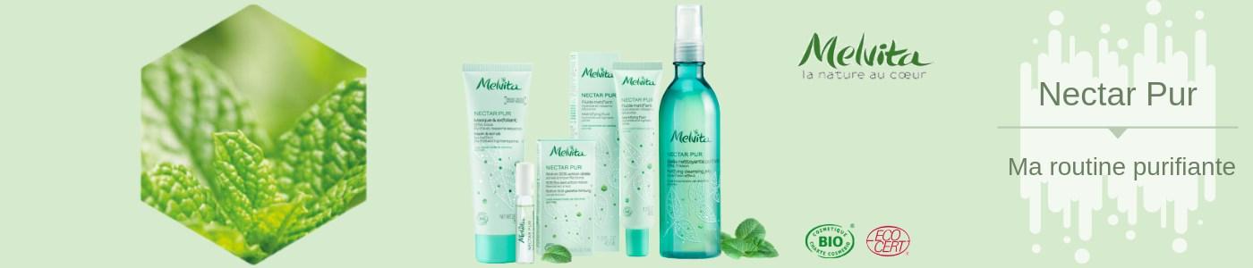 Gelée Nettoyante Purifiante Bio Nectar Pur Melvita
