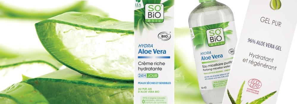 Gel et Crème à l'Aloe Vera Bio